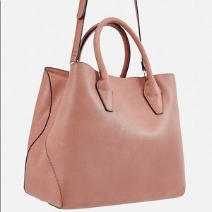 Just fab Faux Leather Tote 👜